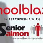 Senior Salmon working in partnership with Schoolblazer